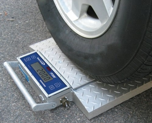 portable wheel scale