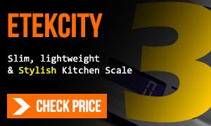Etekcity kitchen scale on amazon
