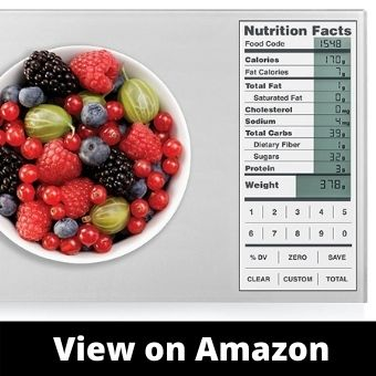 GreaterGoods Digital Nutrition Food Scale