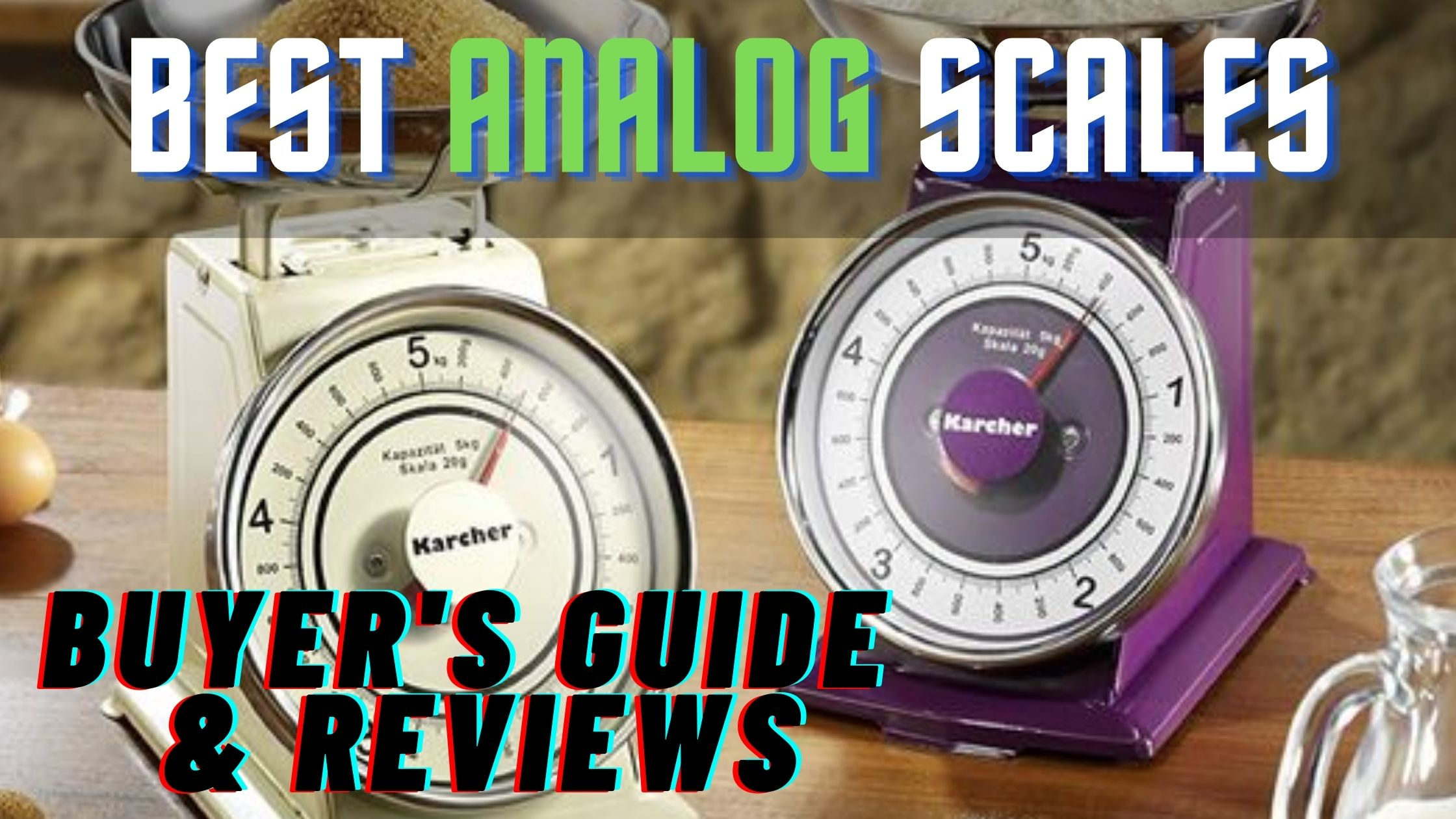best analog food scales